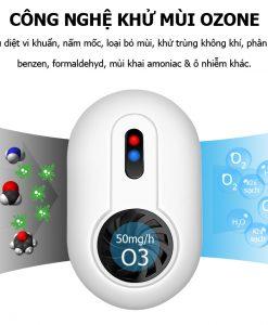 Máy ozone khử mùi nhà vệ sinh